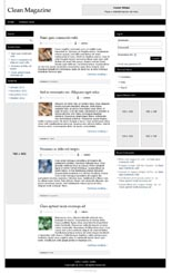 Clean Magazine Responsive WP Theme
